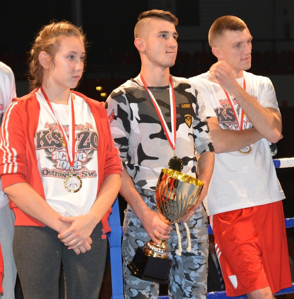 Od lewej: Angelika Strzelecka, Sebastian Gierada i Damian Falecki
