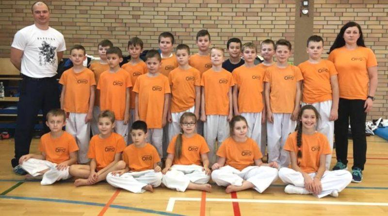 18 medali najmłodszych teakwondoków