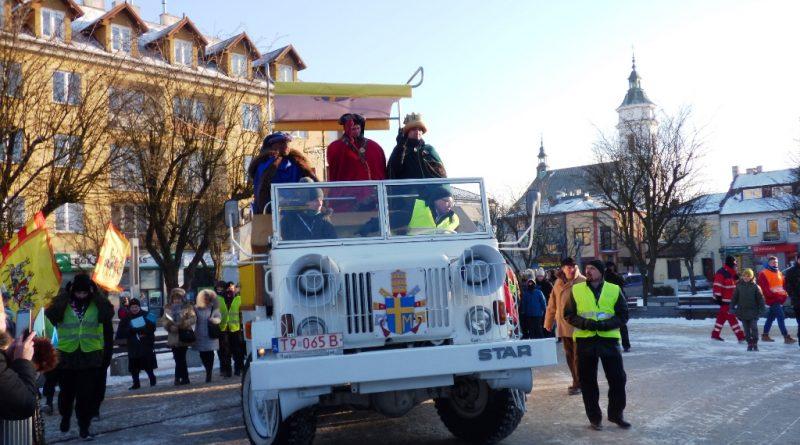 IV Orszak Trzech Króli w Ostrowcu Świętokrzyskim