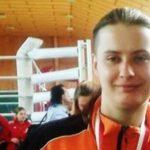 Dominika Podeszwiak. 23 lata. Srebrna medalistka Młodzieżowych Mistrzostw Polski.