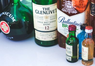 Z nerwów napiła się whisky