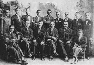 Lata 20 XX wieku. Nauczyciele i absolwenci