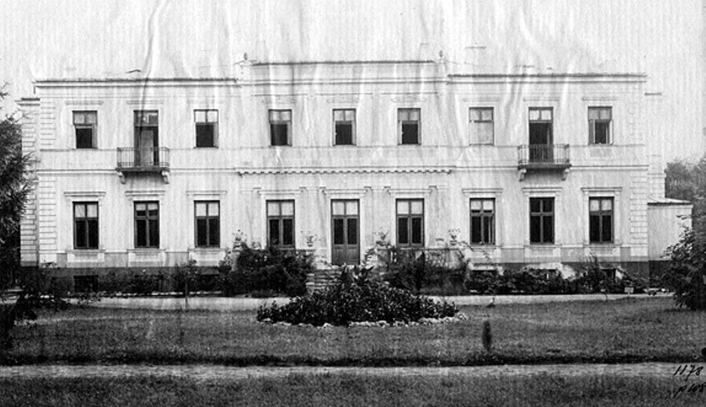 Elewacja ogrodowa. Lata 30. XX wieku