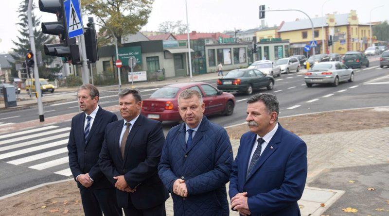 Otwarcie wyremontowanego odcinka ulicy Polnej w Ostrowcu Świętokrzyskim