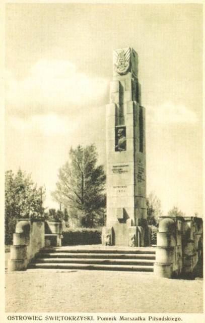 Przedwojenny pomnik
