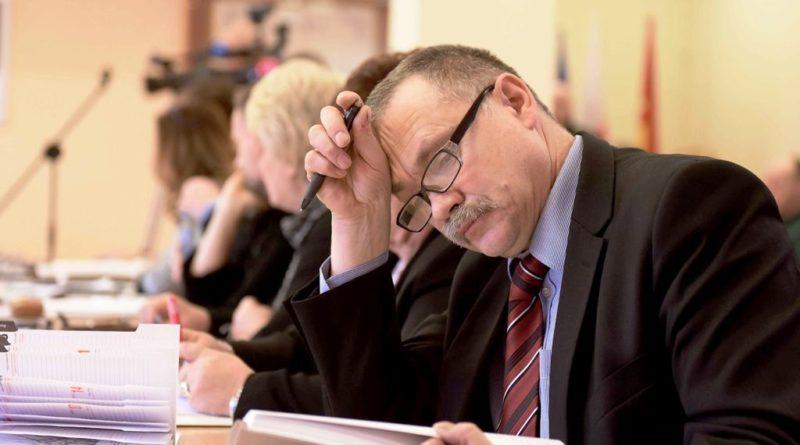 24 stycznia 2018 roku. Sesja budżetowa Rady Powiatu Ostrowieckiego
