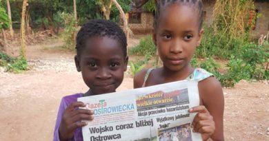 Gazeta Ostrowiecka w Kenii. To , co robią, ma sens…