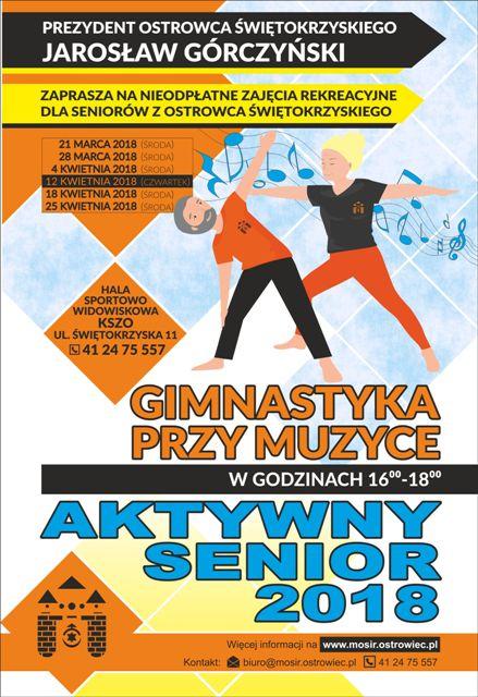 Aktywny_Senior_plakat_120x175_Gimnastyka_przy_Muzyce