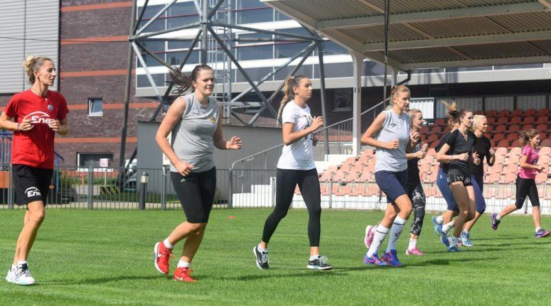 Siatkarki KSZO rozpoczęły przygotowania do sezonu. Z wizytą na pierwszym treningu