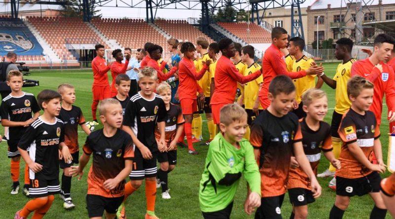 Finał i ceremonia zamknięcia Turnieju Syrenka Cup. Mecz Anglia – Belgia 6:2