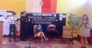 """Wyjątkowe obchody Narodowego Czytania w """"Chreptowiczu"""" (zdjęcia)"""
