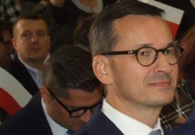 Premier Mateusz Morawiecki w Ostrowcu Świętokrzyskim