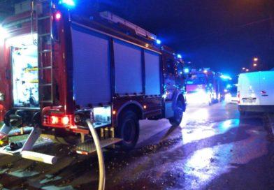 Tragiczny pożar w centrum Denkowa