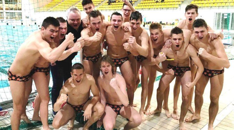 Wysokie zwycięstwa waterpolistów KSZO w kwalifikacjach MP Juniorów