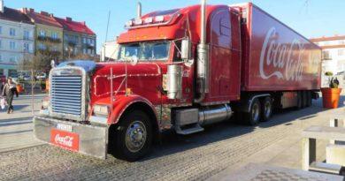 Ostrowiec Świętokrzyski ma szansę na kolejne odwiedziny  świątecznej ciężarówki Coca-Coli