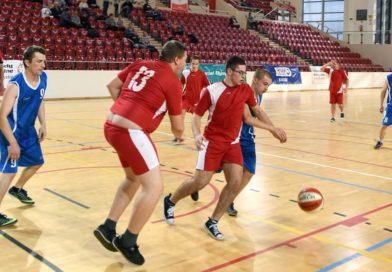 Hala Widowiskowo-Sportowa KSZO. Świętokrzyski Turniej Koszykówki Olimpiad Specjalnych