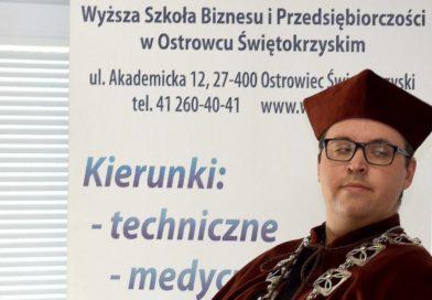 Rozmowa z dr Pawłem Gotowieckim, prorektorem Wyższej Szkoły Biznesu i Przedsiębiorczości