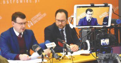 Na internetowe forum trafił wpis o śmierci prezydenta Ostrowca!