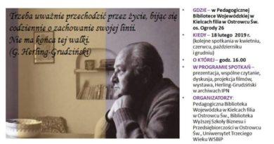 Spotkania z Gustawem Herlingiem -Grudzińskim