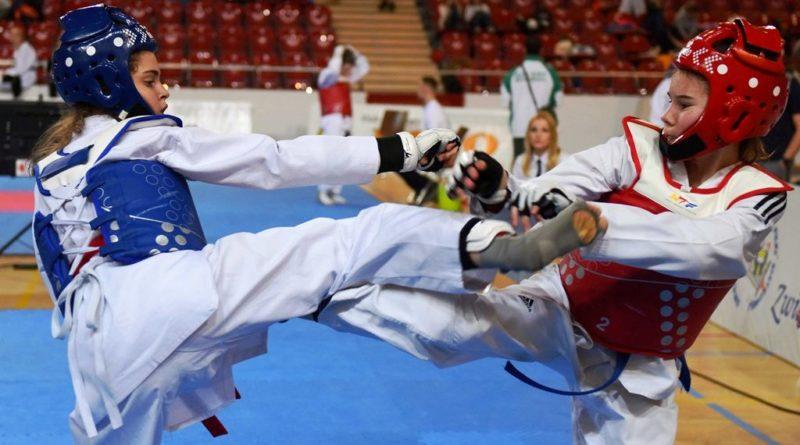 Taekwondo w ostrowieckiej hali. Baba Jaga Cup