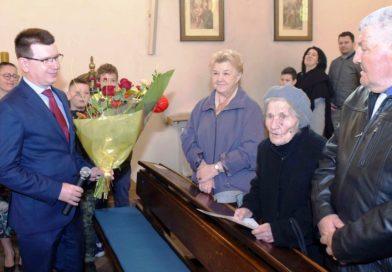 105 lat Władysławy Zięby. Jubileusz najstarszej ostrowczanki (zdjęcia)