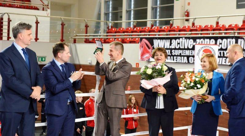 Ceremonia otwarcia i walki Ogólnopolskiej Olimpiady Młodzieży w Boksie