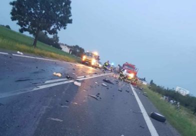 Tragiczny wypadek w Jacentowie