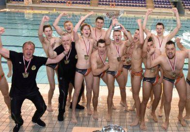 KSZO mistrzem I ligi piłki wodnej seniorów. Wielka radość i ceremonia rozdania medali