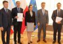 Promesy na usuwanie skutków klęsk żywiołowych dla powiatu ostrowieckiego, Bodzechowa i Bałtowa