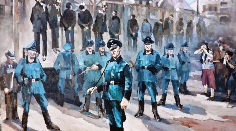 Dziś 78 rocznica egzekucji na ostrowieckim Rynku. Pamiętamy o niemieckiej zbrodni w sercu miasta