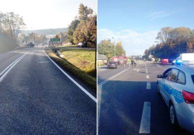 W Czekarzewicach zginął kierowca auta osobowego