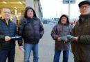 Protest pod Castoramą
