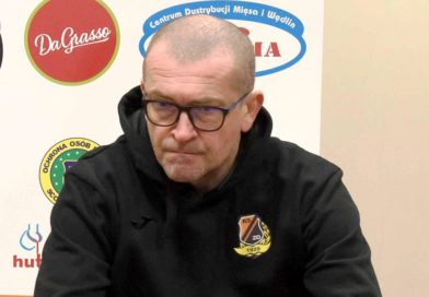 Trener Marcin Sasal szuka przyczyn porażki na inaugurację piłkarskiej wiosny
