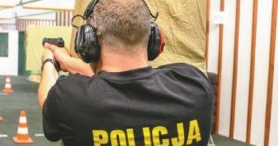 Policjanci na ostro