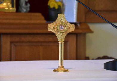 Relikwie św. Jana Pawła II w ostrowieckim hospicjum (zdjęcia)