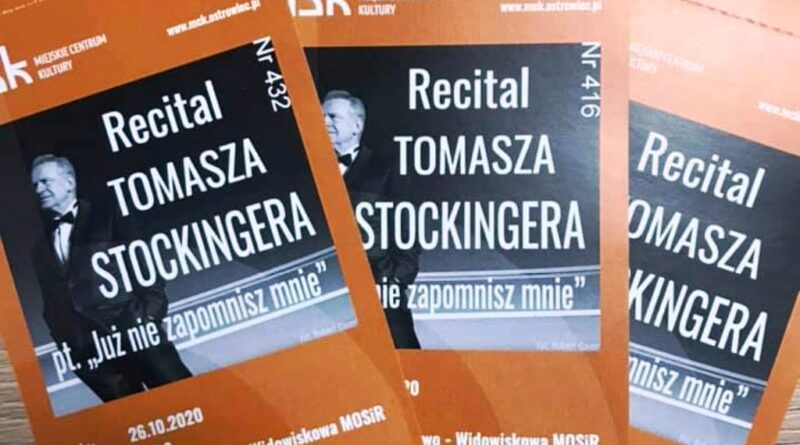 Ostrowiecki Browar Kultury zaprasza na recital Tomasza Stockingera