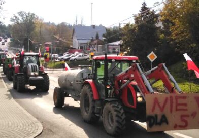 Protest rolników w Opatowie