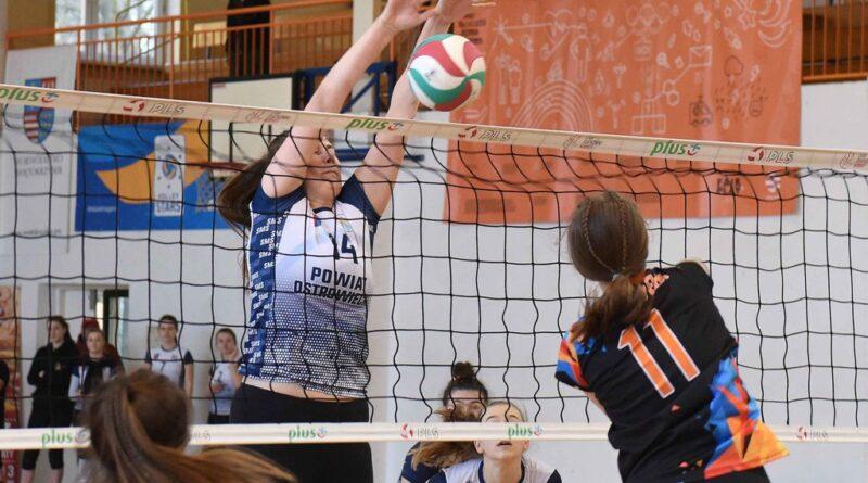 Ćwierćfinałowy Turniej Mistrzostw Polski Kadetek w Piłce Siatkowej. *KSZO SMS Ostrowiec Świętokrzyski – UMKS Ełk 3:0