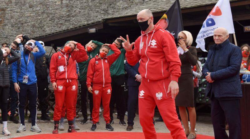 Młodzieżowe Mistrzostwa Świata w Boksie. Zamek w Chęcinach. Trening mentalny