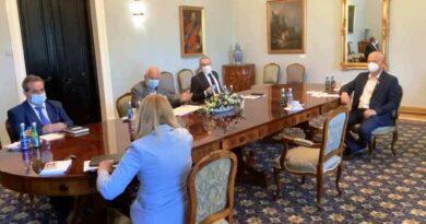 Rozmowy o problemach hutnictwa w Kancelarii Prezydenta RP