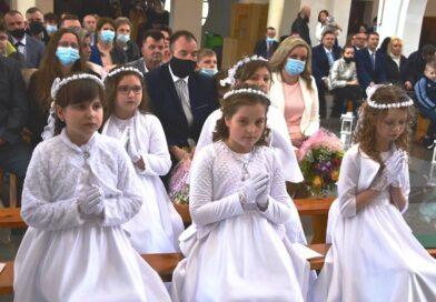 Czas Pierwszych Komunii Świętych