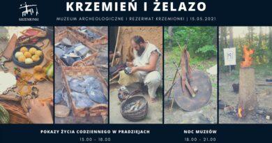 """""""Krzemień i Żelazo"""" w Rezerwacie Krzemionki"""