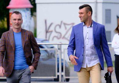 Dariusz Ogłaza i Paweł Kapsa po zmianie zarządu piłkarskiego KSZO