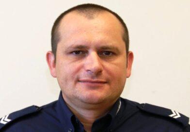 St. sierż. Marcin Bis uratował życie 35-latkowi