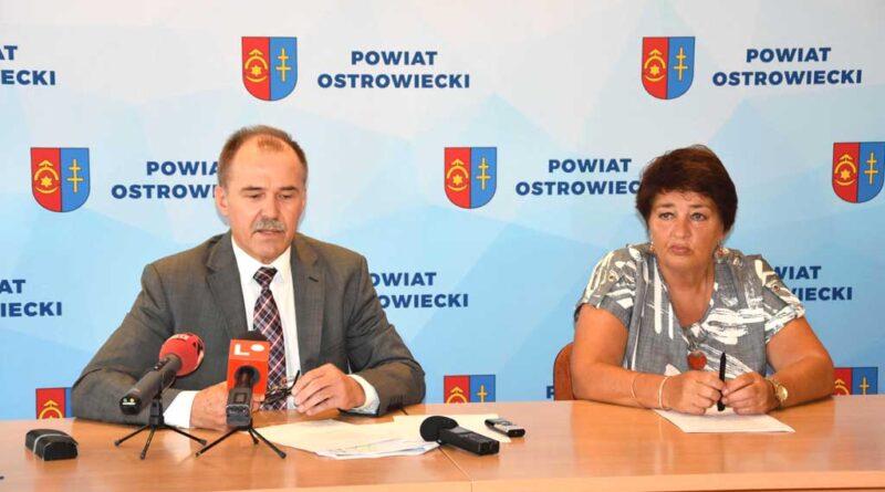 Powiat ostrowiecki z wnioskami na inwestycje za 55 milionów!