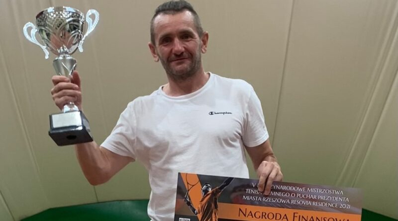 Zbigniew Dąbrowski międzynarodowym mistrzem Rzeszowa