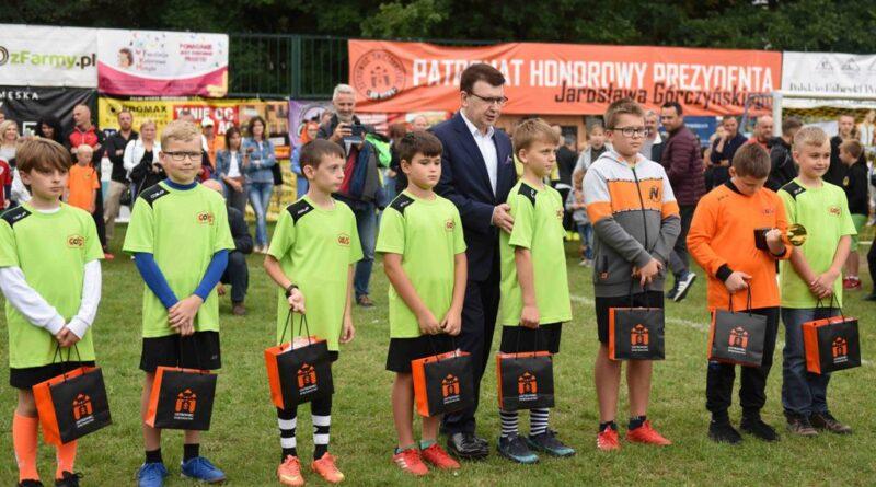 Ceremonia zamknięcia Turnieju Piłkarskiego Ogrody 2021