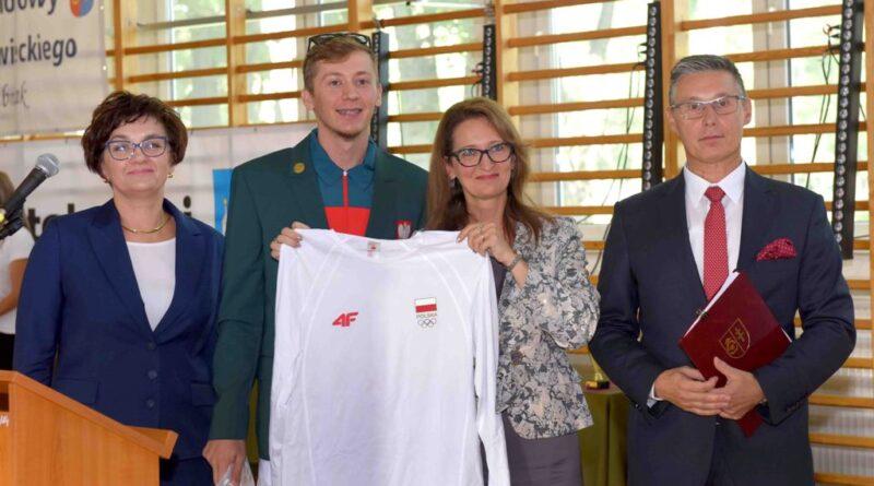 Inauguracja Roku Szkolnego 2021/2022 w Zespole Szkół Ogólnokształcących Mistrzostwa Sportowego