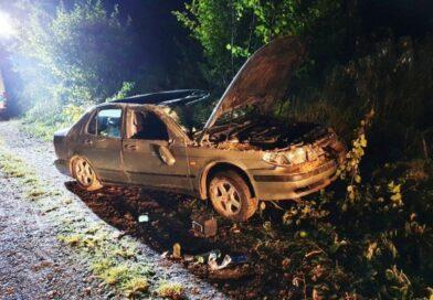 Zginął kierowca saaba