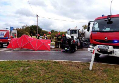Śmiertelny wypadek na ulicy Bałtowskiej